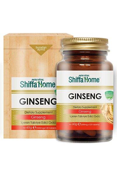 Shiffa Home Ginseng Tablet 120 Tablet 500 mg Kırmızı Ginseng Panax