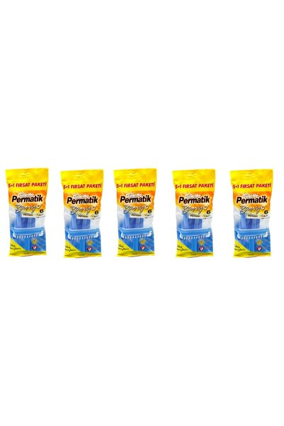 Gillette Permatik Banyo 30 Adet