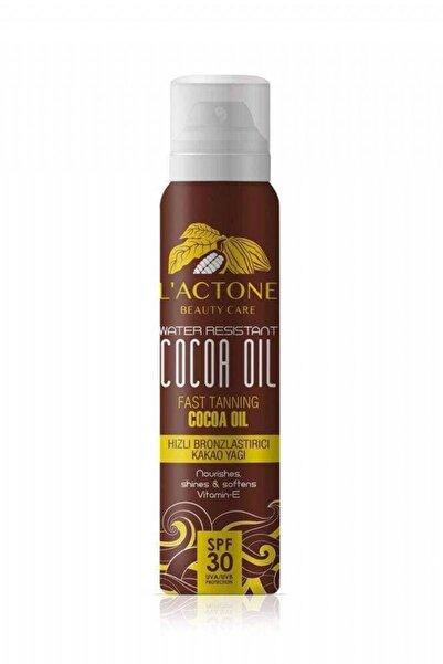 Bronzlaştırıcı Sprey Kakao Yağı 30 SPF