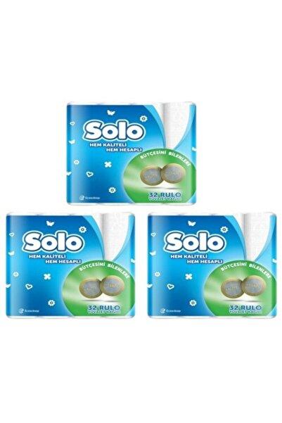 Solo Tuvalet Kağıdı 32 Rulo X 3 Adet
