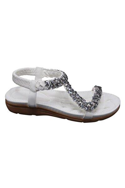 Guja Kadın Yastık Taban Kolay Giyim Sandalet 20y231-9