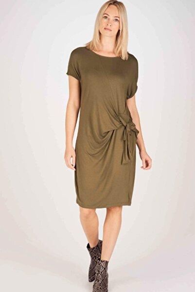Vero Moda Kadın Yeşil Elbise 10223227 VMLUCCA