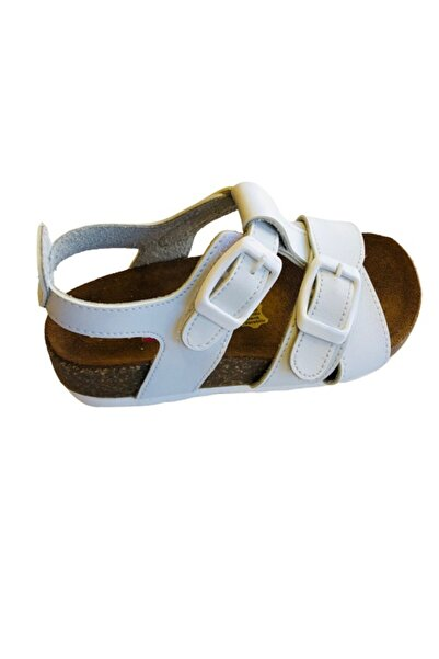 Minican 85507 Tam Ortapedik Deri Taban Uniseks Sandalet