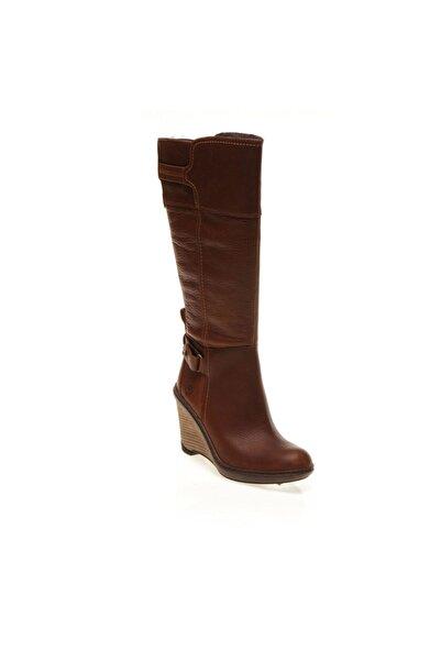 Kadın    Çizme 3624R W Tımberland Stratham Heıghts Wedge Tall Boot