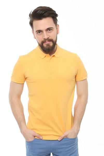 Erkek Hardal T-Shirt - Cdr4613-19YCEEOM4613