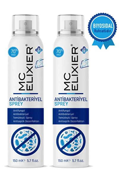Mc Elixier Biyosidal Ruhsatlı Antibakteriyel Sprey 2'li