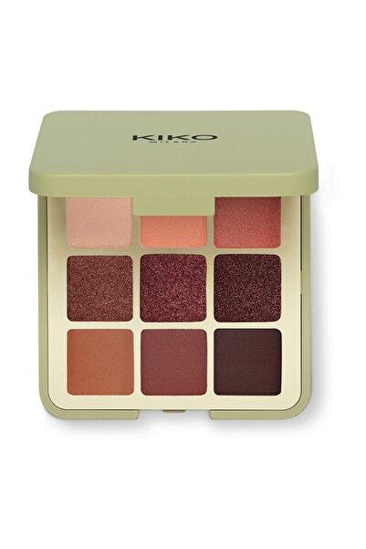 KIKO 9'lu Far Paleti - New Green Me Eyeshadow Palette 102 Feisty Saffron