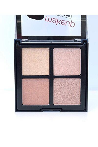 Roesıa Rose Cosmetics Rose 4'lü Hıghlıghter Paleti B