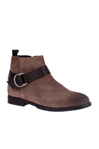 Tommy Hilfiger Gri Kadın Bot Fw0fw01384 912 G1385enny 15c Boots Taupe Grey-coffee Bean