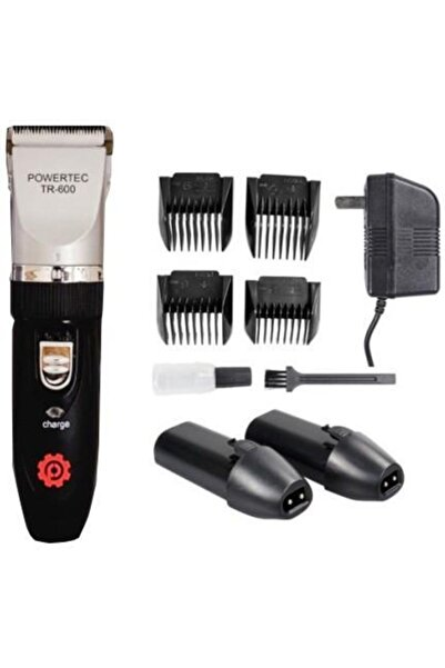 Cadence Powertec Tr 600 Çift Bataryalı Saç Sakal Kesme Tıraş Makinesi