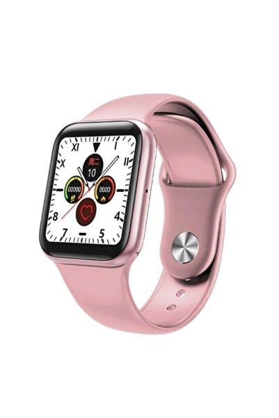 JASPER Akıllı Saat Smart Watch B08 Samsung Huawei Iphone Xiaomi Uyumlu Pembe
