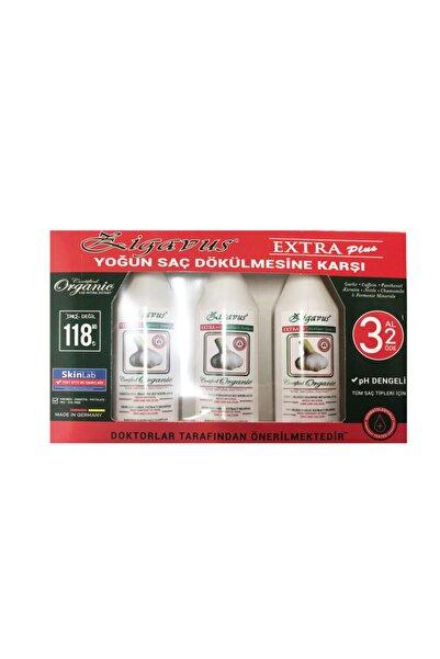 Zigavus Saç Dökülmelerine Karşı Kokusuz Sarımsaklı Şampuan- 3 Al 2 Öde