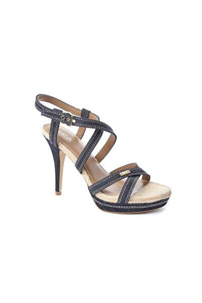 Liu Jo Lacivert Kadın Sandalet S12087 Lıu Jo Sandalo Glem T110 In Denım