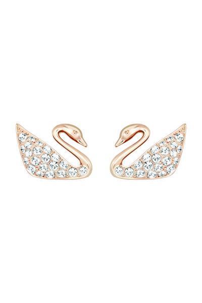 Swarovski Kadın Küpe Swan:Pe Mini Cry/Ros 5144289