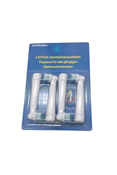 Oral-B Şarjlı Diş Fırçaları Ile Uyumlu 4'lü Yedek Başlık