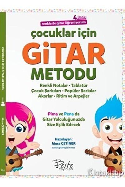 Beste Yayınları Çocuklar Için Gitar Metodu - Renklerle Gitar Öğreniyorum