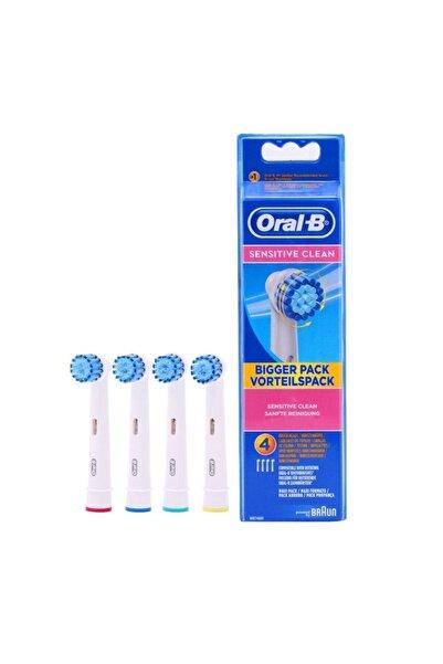 Oral-B Sensitive Clean Diş Fırçası Yedeği 4'lü