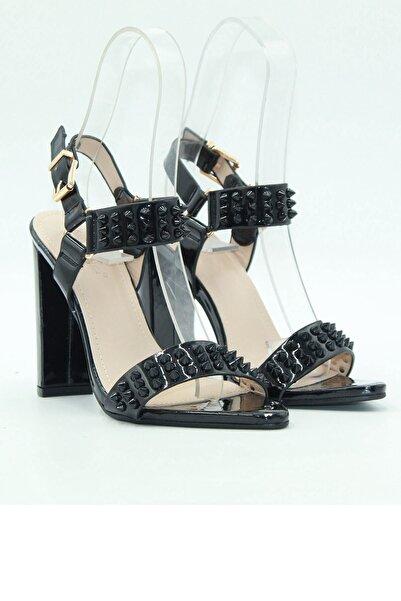 Guja Kadın Topuklu Ayakkabı 20y158-2 Siyah