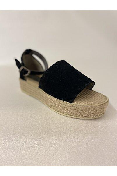 Fendi Hasır Tabanlı Süet Kadın Sandalet