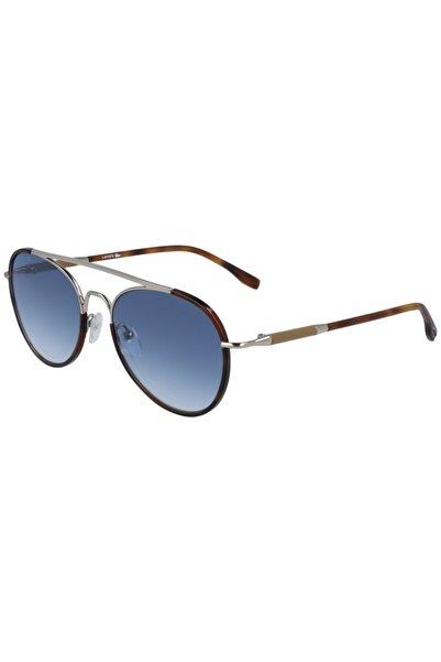Lacoste Unisex Mavi Güneş Gözlüğü L211s 718 55