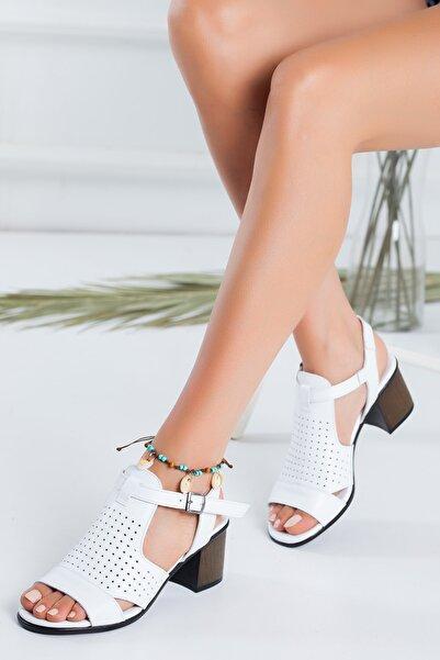 Hakiki Deri Kadın Sandalet Tmd775
