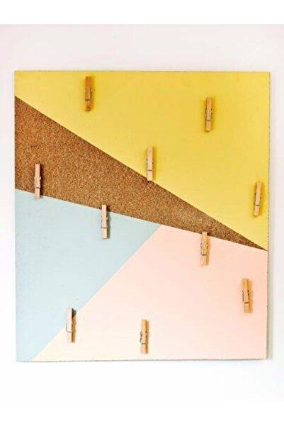 LAMONETA Renkli Notluk / Çok Amaçlı Notluk / Duvar Notluğu / Note Board