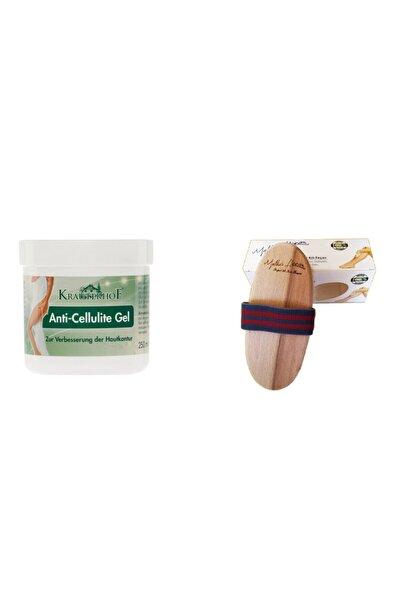 Krauterhof Doğal At Kılı Fırçası& Anti Cellulite Gel 250 ml