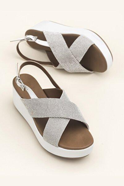 Elle Shoes SISSEL Beyaz Sandalet 20YLT123059