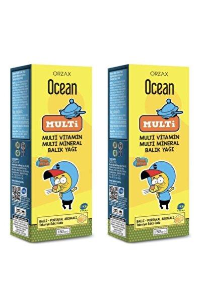 Ocean Multi Şurup (ballı Portakal Konsantreli) Kral Şakir 150 ml 2 Adet