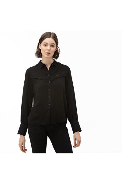 Lacoste Kadın Siyah Gömlek CF0012
