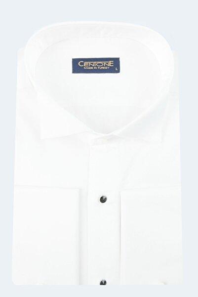 Centone Pamuk Saten Gömlek 16-0156