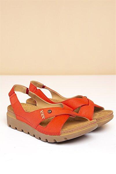 Pierre Cardin Pc-1380 Kırmızı Kadın Sandalet