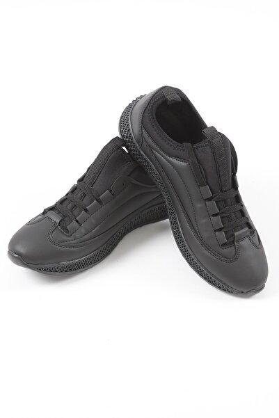 Manche Erkek Siyah Ayakkabı 96-2023 | Me20w962023