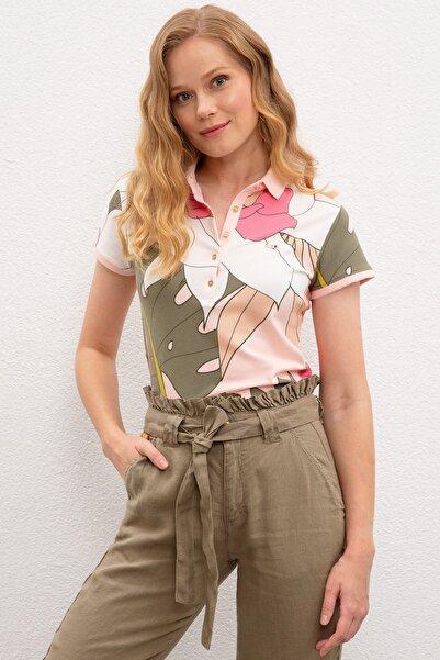 U.S. Polo Assn. Kadın T-Shirt G082SZ011.000.970619