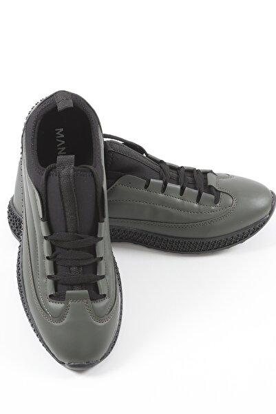 Manche Erkek Haki Ayakkabı 96-2023  Me20w962023