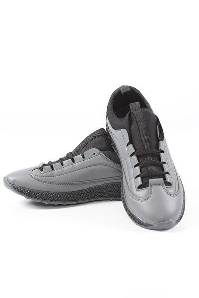 Manche Erkek Gri Ayakkabı 96-2023  Me20w962023