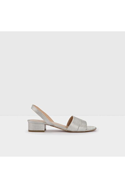 Aldo CANDY-TR - Orta Topuklu Gümüş Kadın Sandalet