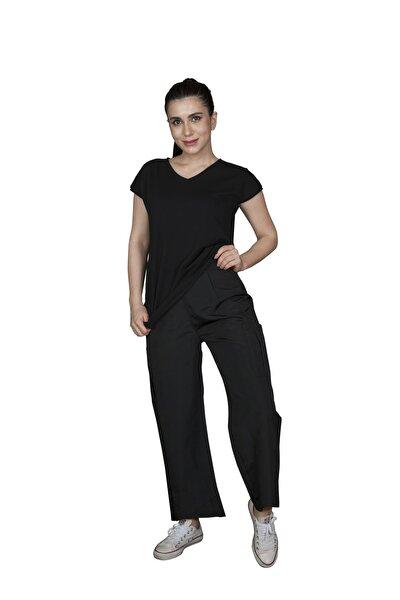 simgeoz Kadın Siyah Pantolon