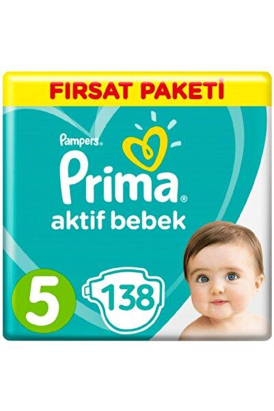 Prima Aktif Bebek 5 Numara Fırsat Paketi 11-16 Kg 138 Adet