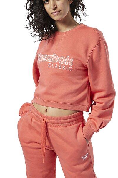 Reebok CL FL  CREW Turuncu Kadın Sweatshirt 100584409
