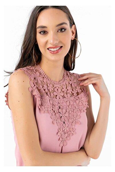 Tiffany Y15076 Dantelli Bluz