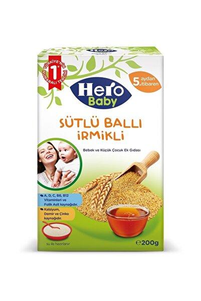 Hero Baby Sütlü Ballı İrmikli Kaşık Maması 200 gr