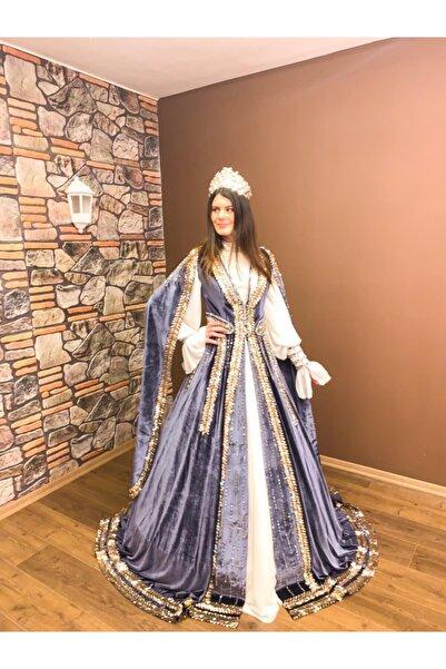 Womentic Bridal Gold Detaylı Işıltılı Bindallı