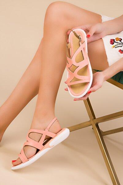 SOHO Pudra Kadın Sandalet 15112