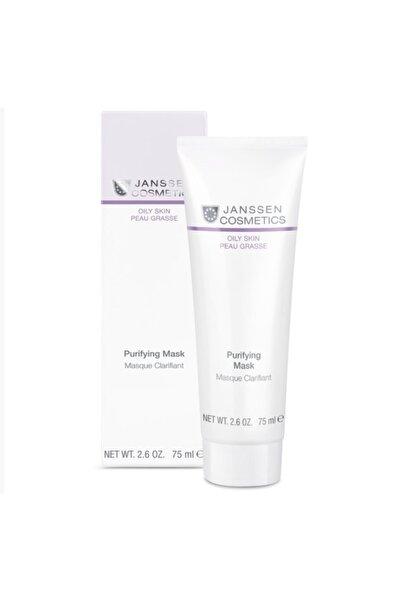 Janssen Cosmetics Yağlı Ciltler Için Gözenek Arındırıcı Ve Sivilce Engelleyici Maske 75 Ml