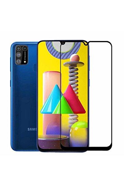 Samsung Galaxy M31 Ekran Koruyucu Tam Kaplayan Kırılmaz 6d Nano Siyah