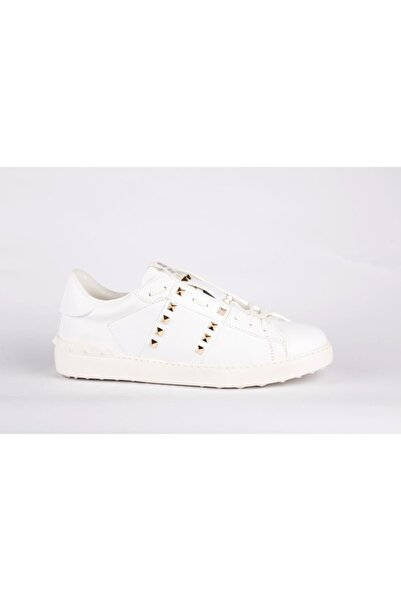 Valentino Garavani Erkek Beyaz Sneaker Ayakkabı
