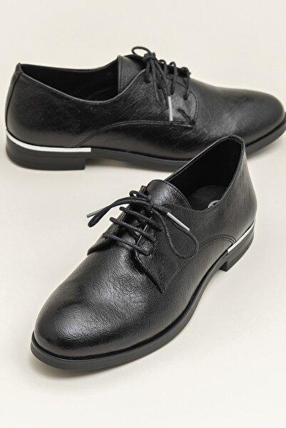 Elle Shoes MIAH-1 Siyah Kadın Ayakkabı