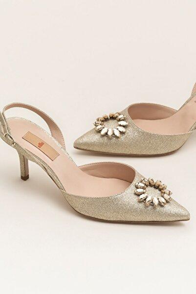 Elle Shoes NISHAA Gold Kadın Ayakkabı