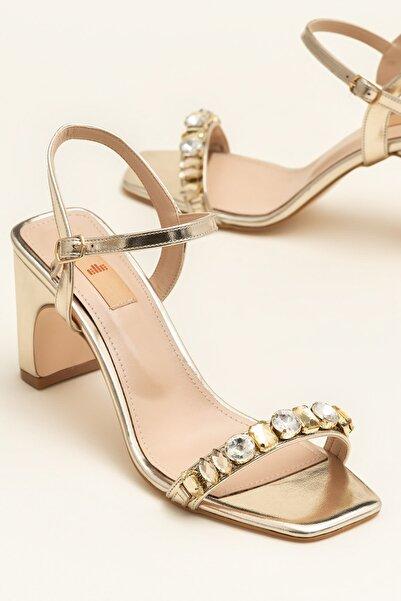 Elle Shoes INGRID Altın Kadın Sandalet